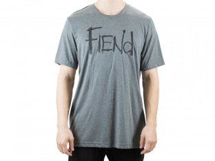 "Fiend BMX ""Logo"" T-Shirt - Washed Grey"