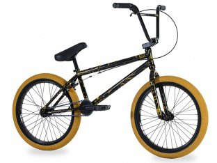 "Fiend BMX ""Type O-"" 2018 BMX Rad - Gloss Black / Splatter"