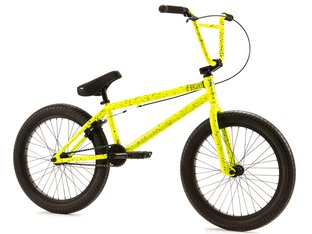 "Fiend BMX ""Type O-"" 2019 BMX Bike - Gloss Yellow / Black Splatter"