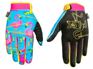 "Fist Handwear ""Laser Flamingo"" Gloves"