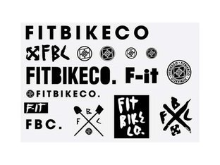 "Fit Bike Co. ""Big Fit"" Sticker Set"