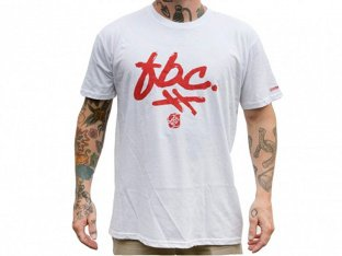 "Fit Bike Co. ""Brush"" T-Shirt - White"