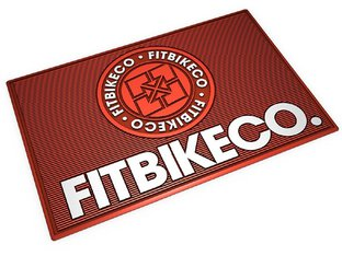 "Fit Bike Co. ""Emblem"" Floor Mat"