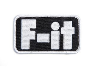 "Fit Bike Co. ""F-it"" Patch"