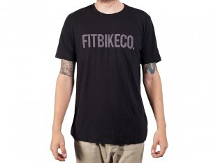 "Fit Bike Co. ""Font"" T-Shirt - Black"