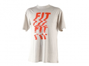 "Fit Bike Co. ""Glitch"" T-Shirt - Grey"