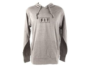 "Fit Bike Co. ""Lightweight"" Hooded Pullover - Grey"
