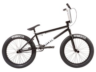 "Fit Bike Co. ""STR"" 2020 BMX Bike - Gloss Black"