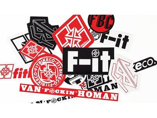 Fit Bike Co. Stickerset