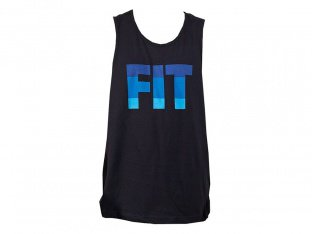 "Fit Bike Co. ""Striped"" Tank Top - Black"