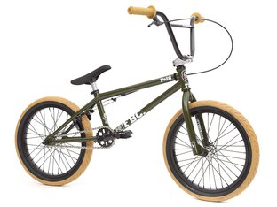 "Fit Bike Co. ""18"" 2016 BMX Rad - 18 Zoll / Matte Green"