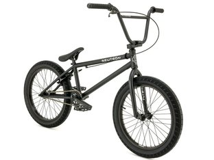"Flybikes ""Neutron"" 2019 BMX Bike - Flat Black 
