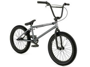 "Flybikes ""Neutron"" 2019 BMX Bike - Flat Metallic Grey 