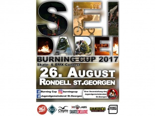 Burning Cup 2017 - BMX & Skate Contest