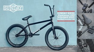 "BMX Sale - Sunday Bikes ""Forecaster LHD"" 2019 BMX Bike"