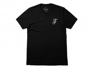 "Further Brand ""Casual F"" T-Shirt - Black"