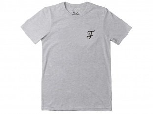 "Further Brand ""Casual F"" T-Shirt - Heather Grey"