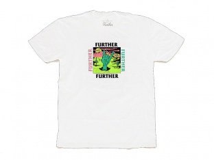 "Further Brand ""Desert Rock Hand"" T-Shirt - White"