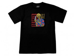 "Further Brand ""Leo Skeleton"" T-Shirt - Black"