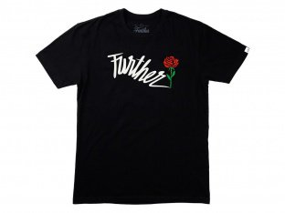 "Further Brand ""Shock Rose"" T-Shirt - Black"