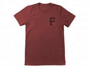 "Further Brand ""Slab"" T-Shirt - Marron"