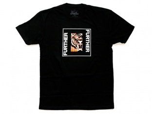 "Further Brand ""Tiger"" T-Shirt - Black"