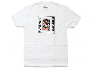 "Further Brand ""Tiger"" T-Shirt - White"