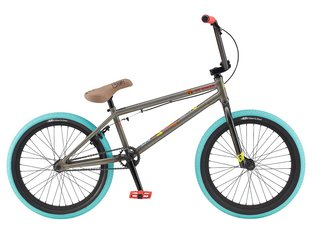 "GT Bikes ""Performer"" 2020 BMX Bike - Glossy Raw/Multicolor"