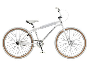 "GT Bikes ""Pro Performer Heritage 26"" 2020 BMX Cruiser Bike - White/Chrome 