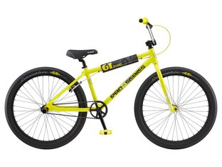 "GT Bikes ""Pro Series Heritage 26"" 2020 BMX Cruiser Bike - Yellow/Black 
