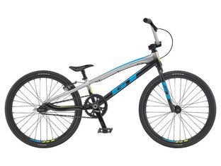 "GT Bikes ""Speed Series Expert"" 2020 BMX Race Bike - Gloss Silver/Black"