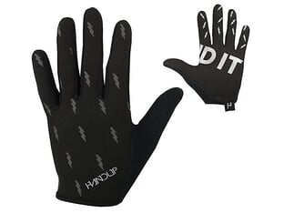 "Handup ""Most Days Blackout Bolts"" Gloves - Black"