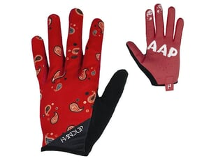"Handup ""Most Days Braaap"" Gloves - Red"