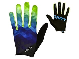 "Handup ""Most Days Prizm"" Gloves - Green/Blue"