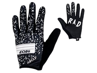 "Handup ""Most Days Take Note"" Gloves - Black/White"