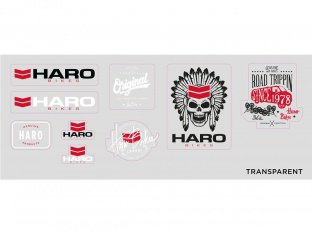 "Haro Bikes ""2017"" Stickerset"