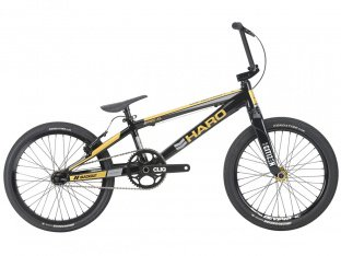 "Haro Bikes ""Blackout XL"" 2018 BMX Race Bike - Gloss Black/Gold"