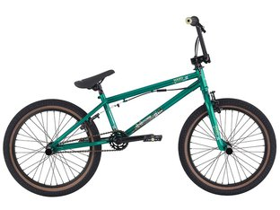"Haro Bikes ""Downtown DLX"" 2016 BMX Rad - Gloss Metallic Green"