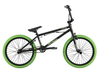 "Haro Bikes ""Downtown DLX"" 2017 BMX Rad - Gloss Black"