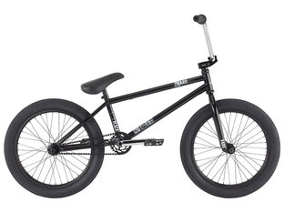 "Haro Bikes ""Plaza"" 2016 BMX Rad - Gloss Black"
