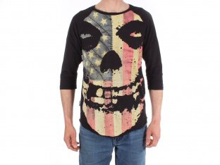 "Iron Fist ""Misfits American"" 3/4 Long­sleeve"