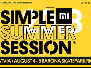 Summer Simple Session 2018 Riga