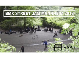 BMX Street Jam Mannheim 2018 Video