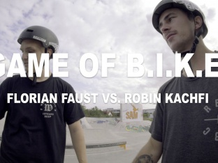 Robin Kachfi vs. Florian Faust - Game of Bike 2017