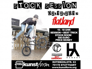 Kunstform Stock Session BMX Flatland Contest 2017