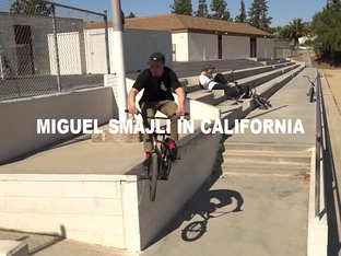 Miguel Smajli - Kalifornien Street Video 2018
