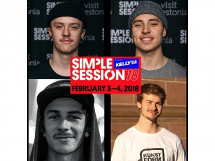 The kunstform team at Simple Session 18