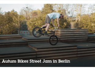Autum BMX Street Jam in Berlin