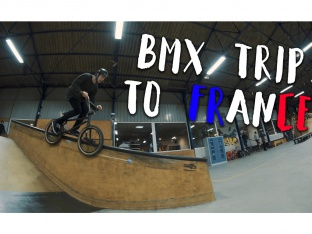 Robin Kachfi & Homies - BMX Trip to France Part 1
