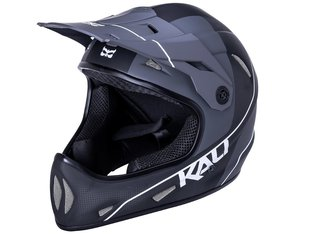 "Kali Protectives ""Alpine Carbon Pulse"" Fullface Helm - Matt Black/White"